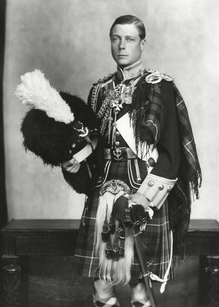 The Prince of Wales in the Uniform of the Seaforth Highlande