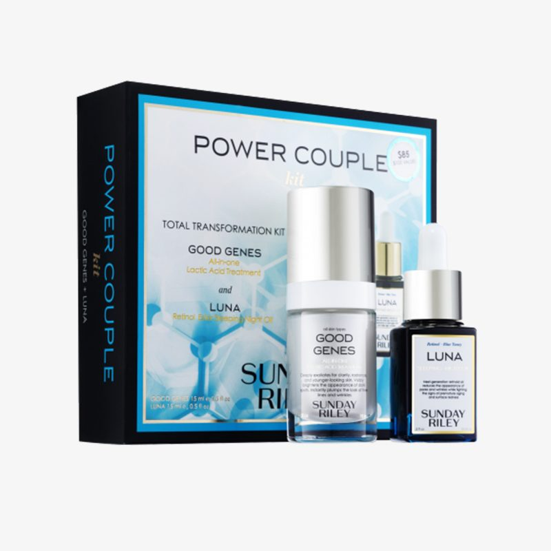power couple skincare kit