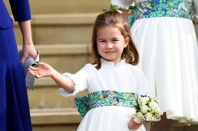 The wedding of Princess Eugenie and Jack Brooksbank, Windsor Castle, Berkshire, UK - 12 Oct 2018