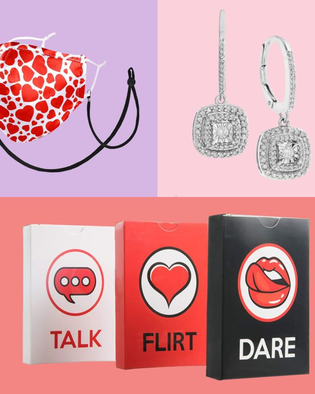 Valentines day gifts collage