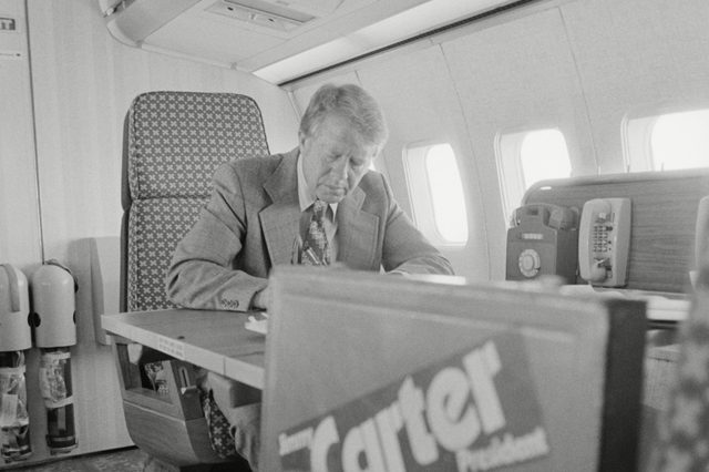 Various 1976 - Jimmy Carter working aboard 'Peanut One'