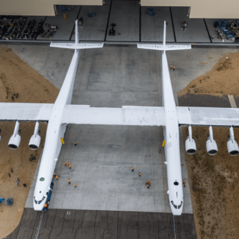 Get a Sneak Peek at the Largest Plane in the World