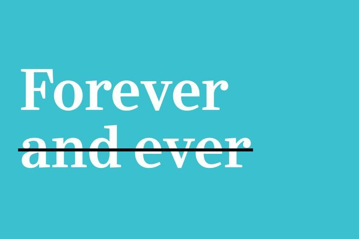 forever and ever