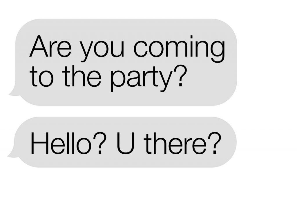 no response