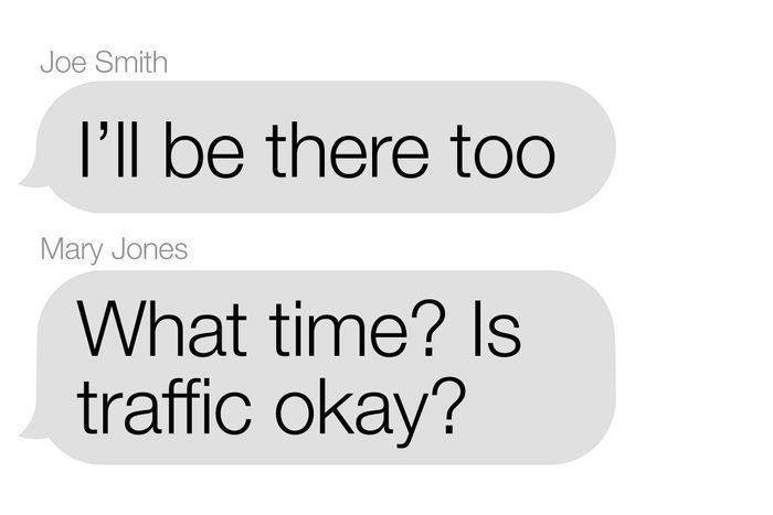 avoid group texts