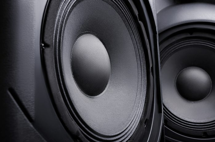 speaker. Music. Volume. concept