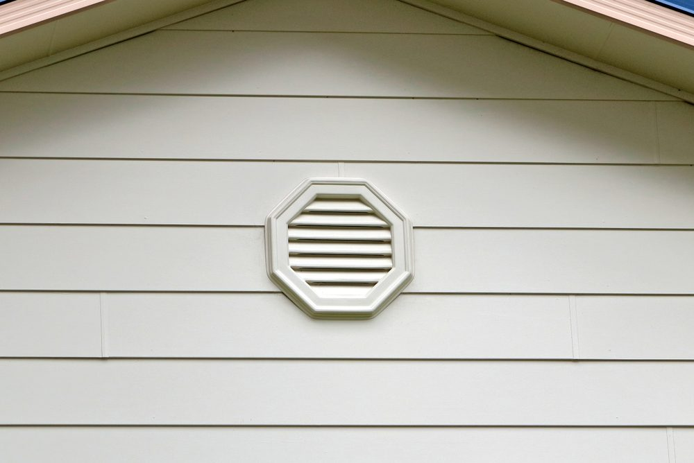 Gable end roof vent