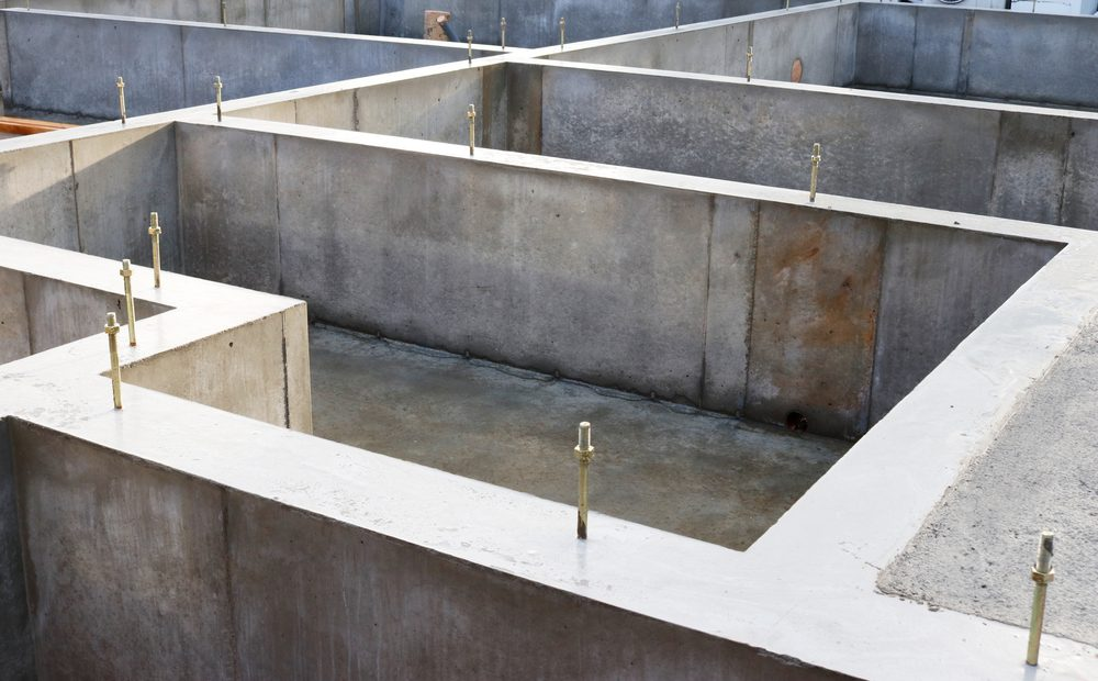 Foundation construction house
