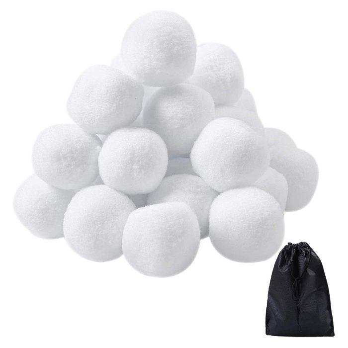 fake snowballs