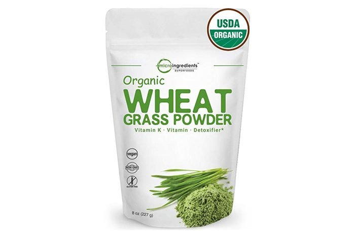 Sustainably US Grown, Organic Wheat Grass Powder, 8 Ounce (75 Serving), Rich in Fiber, Chlorophyll and Fatty Acids, Best Superfoods for Smoothie and Beverage, Non-GMO and Vegan Friendly