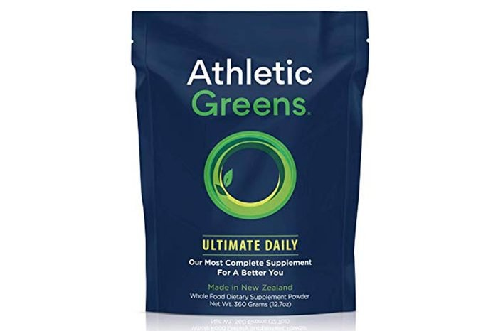 Athletic Greens Ultimate Daily All In 1 Greens Supplement Complete Greens Powder Drink Daily Probiotic Multivitamin Antioxidant Vegan Non GMO GLUTENFREE 30 Servings 360 grams