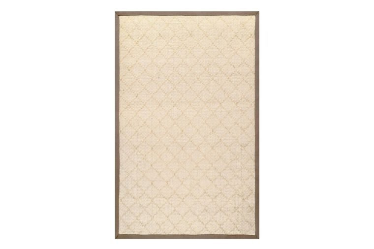 Bordered Donnetta Sisal Natural 3 ft. x 5 ft. Area Rug
