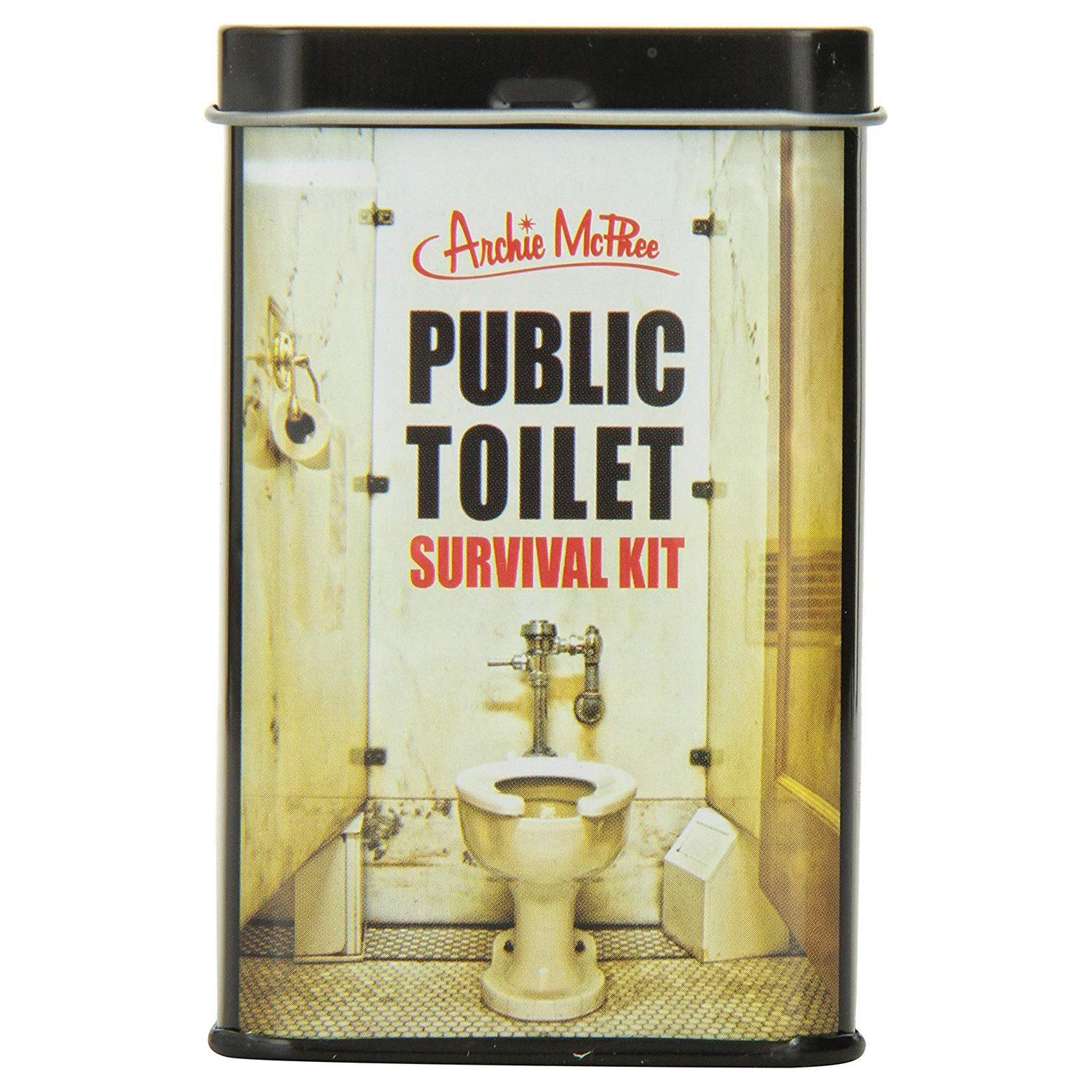 public toilet survival kit