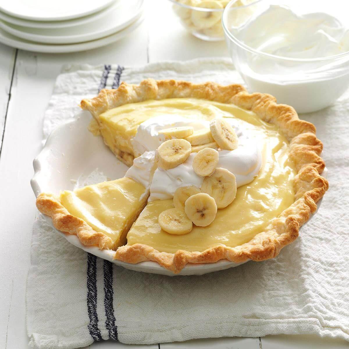 Minnesota: Banana Cream Pie