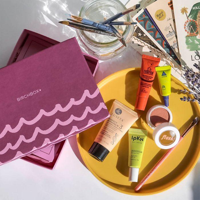 Beauty and makeup goodies: Birchbox Subscription