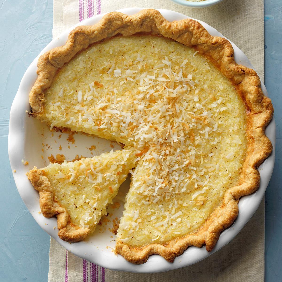 1987: Coconut Custard Pie