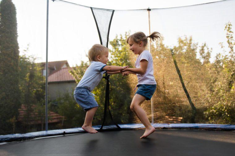 children trampoline