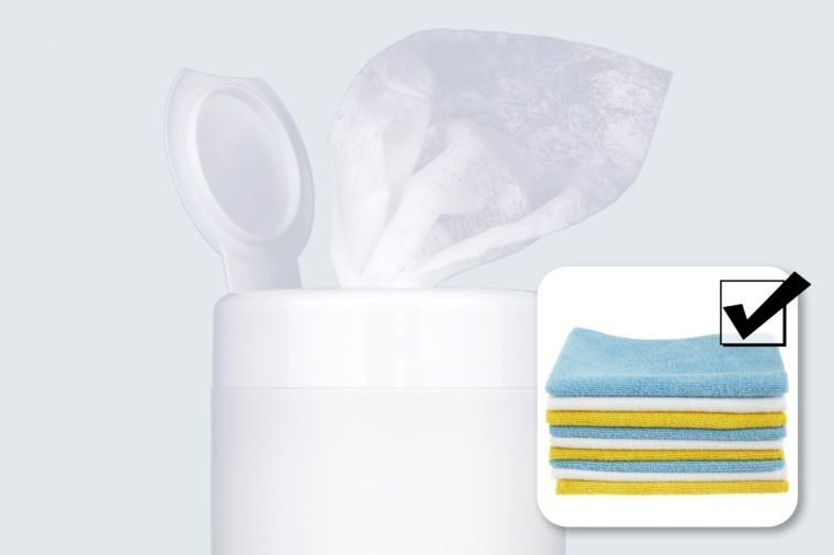 cleaning wipes and what to buy instead.