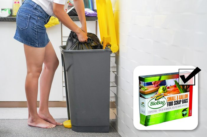 garbage bags bad for the environment. what to buy instead.