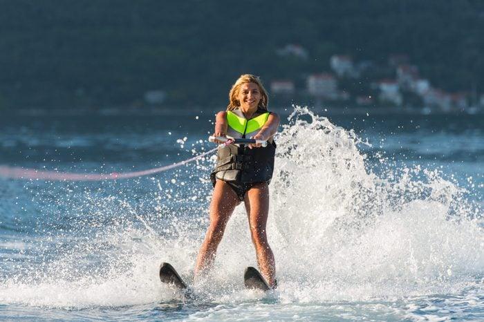 water ski invention
