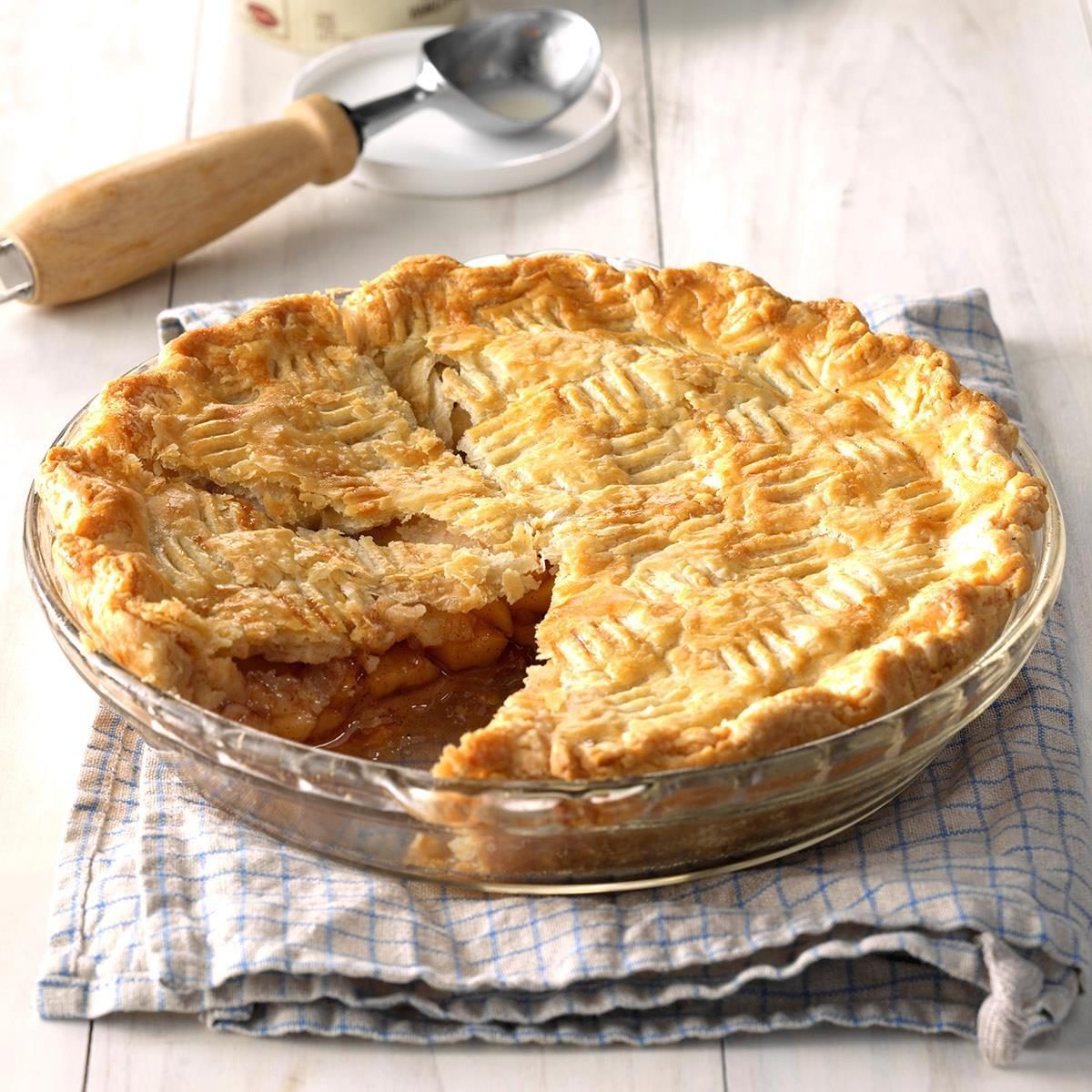 West Virginia: Golden Delicious Apple Pie