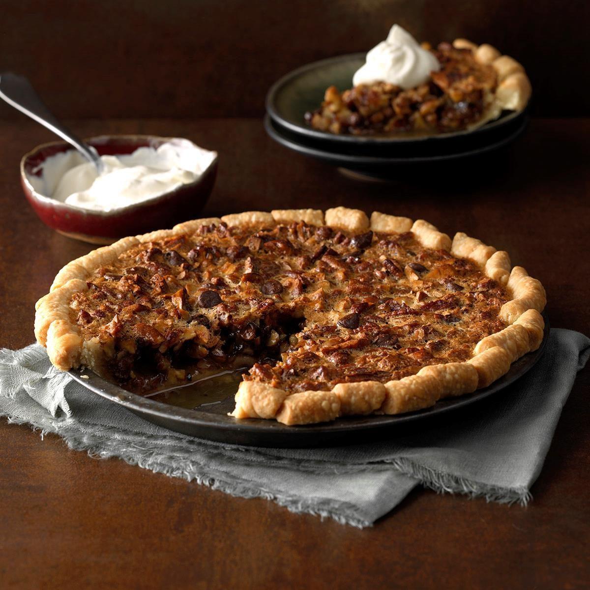 Kansas: Hazelnut Pie
