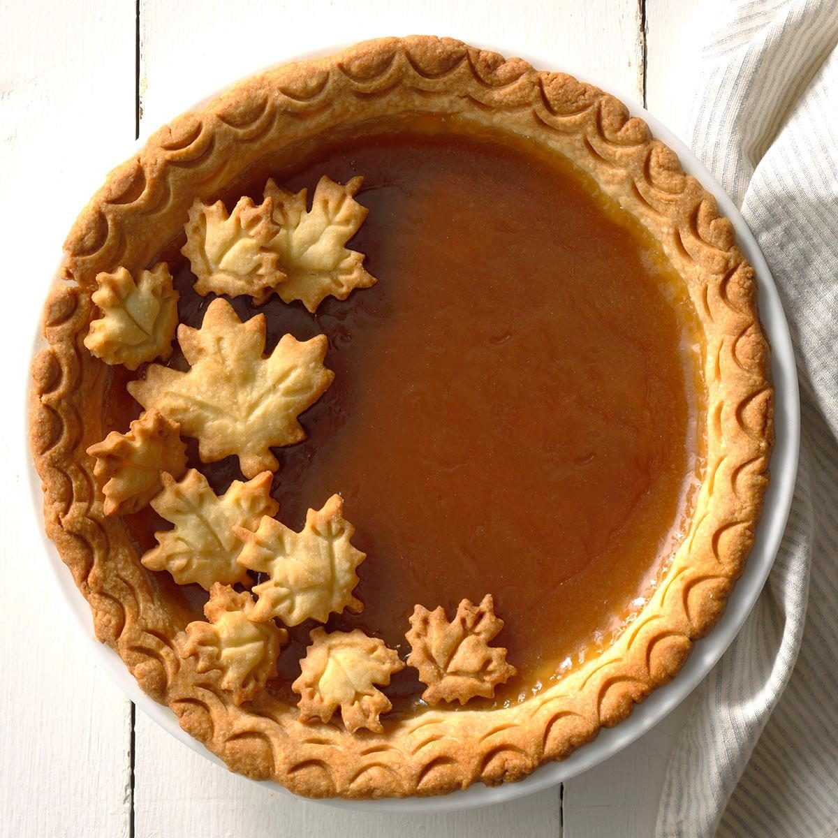 New Hampshire: Maple Syrup Pie