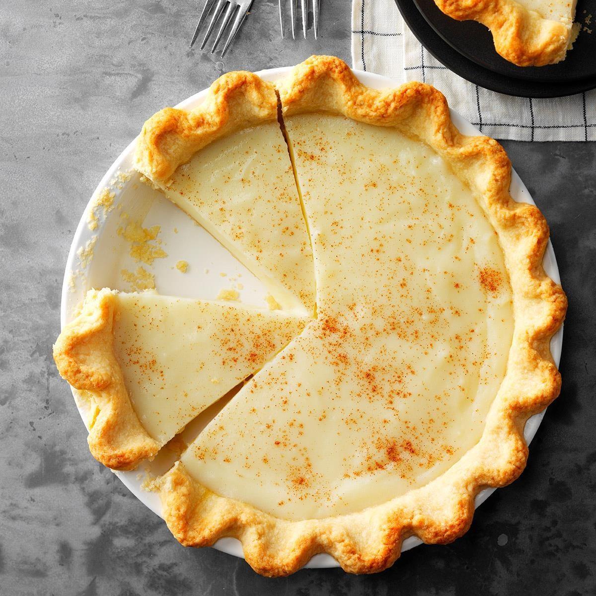 Indiana: Sugar Cream Pie