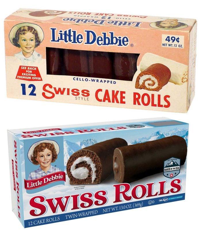 swiss cake rolls