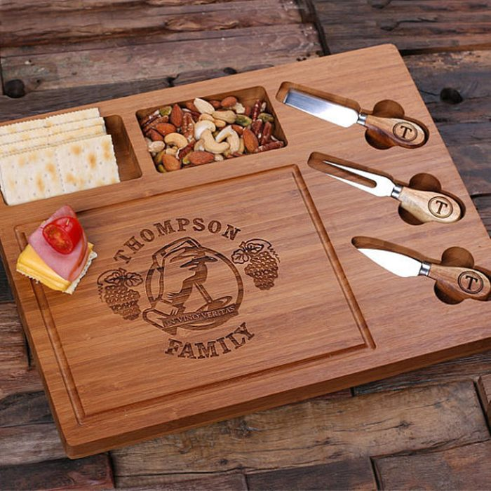 Cheese is love, right?: Etsy Personalized Cheese Board and Tools