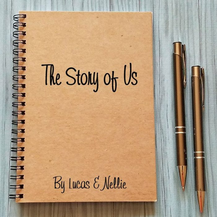 Write your love story: The Story of Us Couples Journal