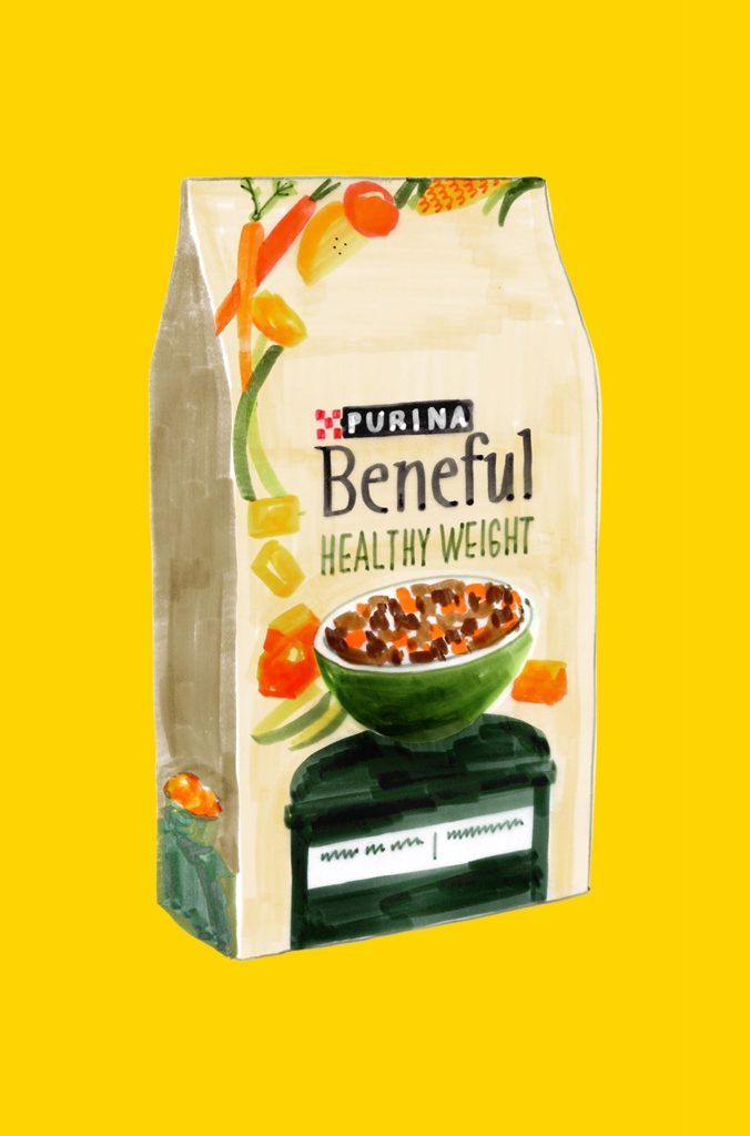Purina healthy pet food
