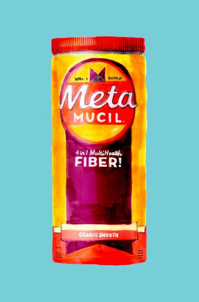 Metamucil fiber supplement