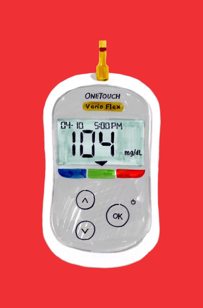 One-Touch Blood-Glucose Monitor