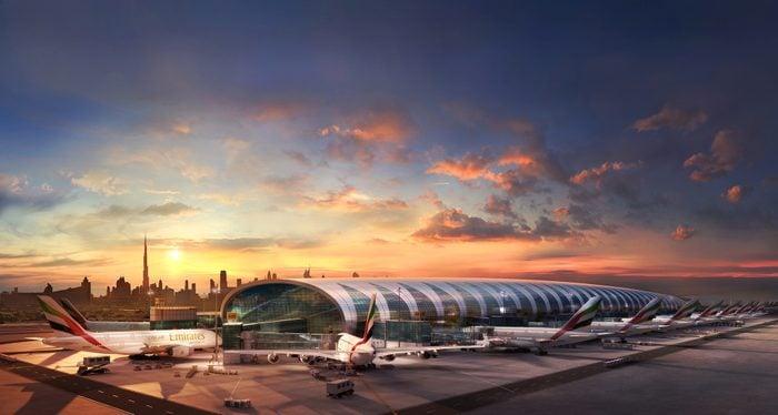 emirates planes terminal