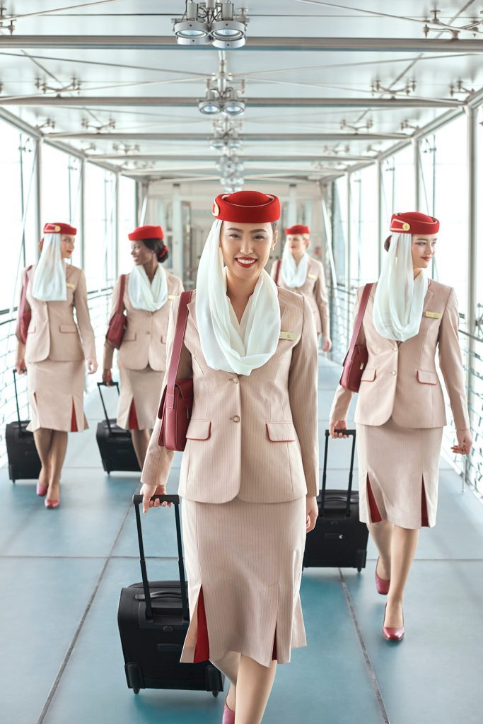 flight attendants emirates