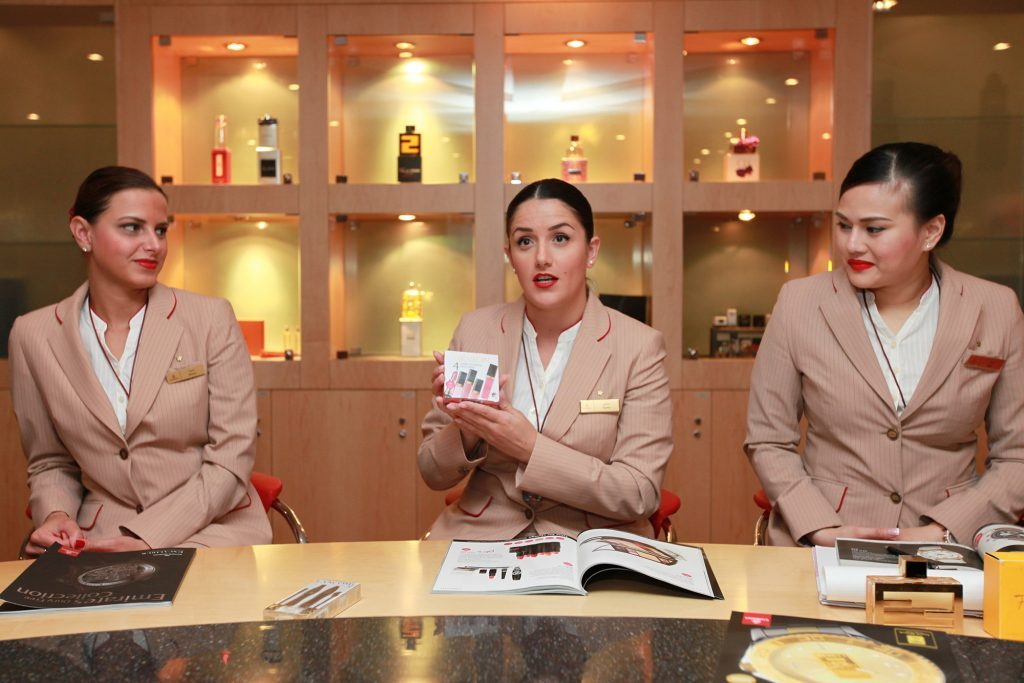 flight attendant training emirates