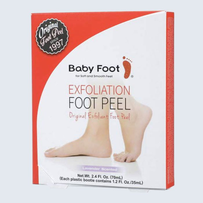 Super soft feet: Baby Foot Original Exfoliation Foot Peel