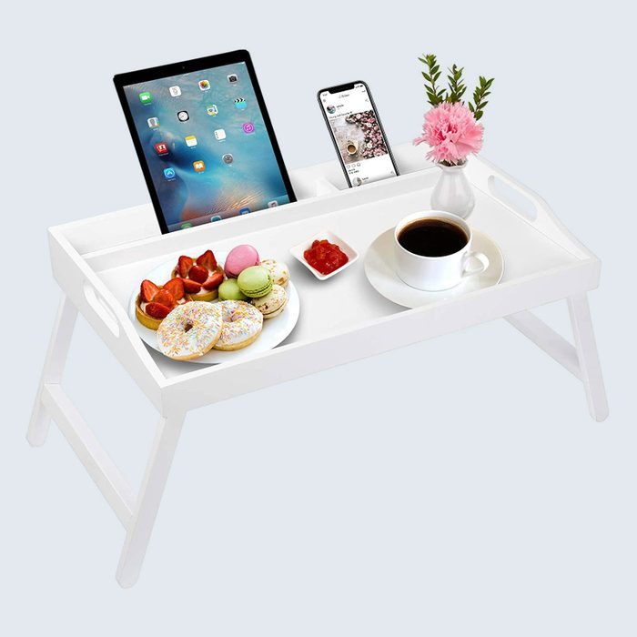 Breakfast in bed: Artmeer Bed Tray Table