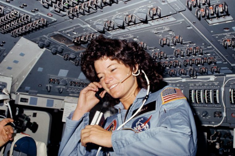 Astronaut, Sally Ride - 1983