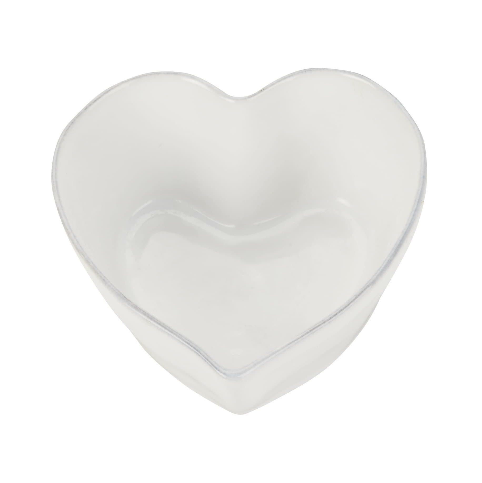 heart stoneware roaster