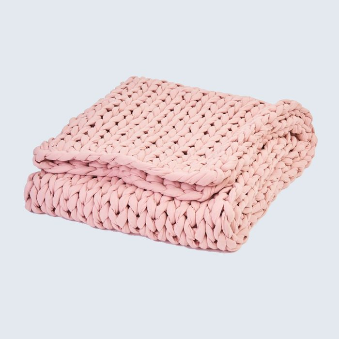 A sound sleep: Bearaby Weighted Blanket Cotton Napper