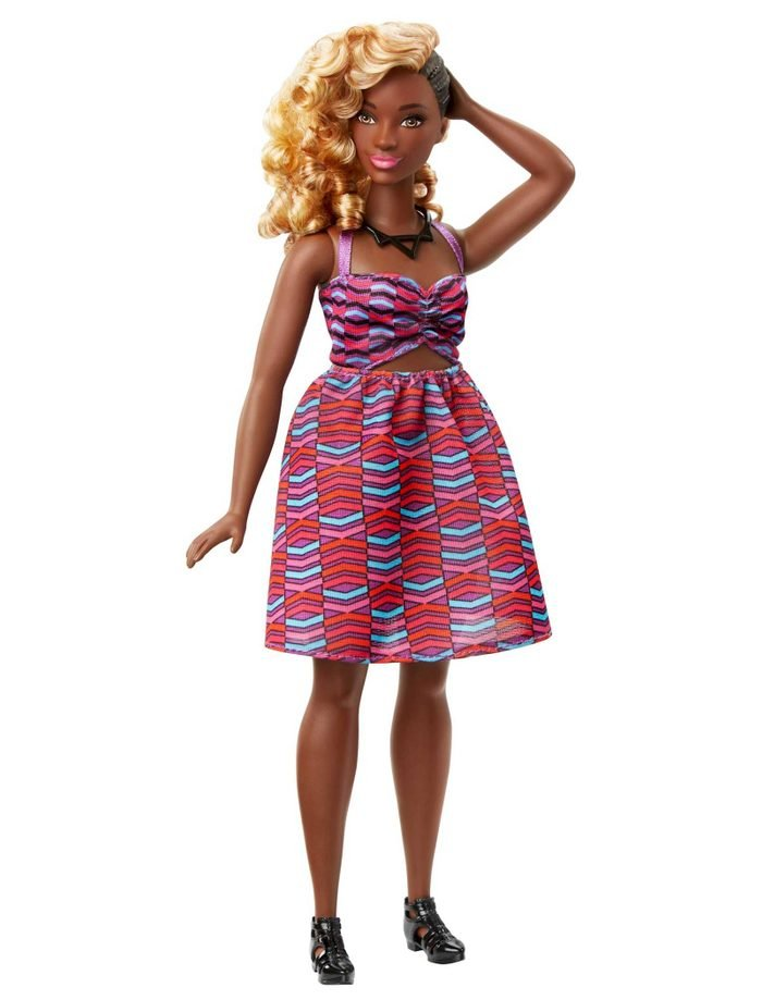 blond weave barbie