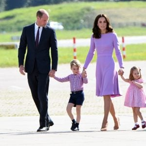 Prince William and family traveling in Germany