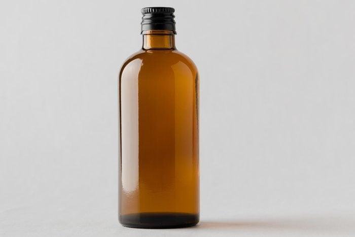 brown bottle rubbing alcohol