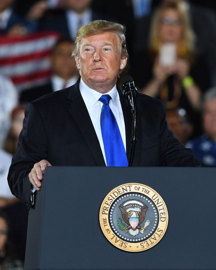 Donald Trump rally, Miami, USA - 18 Feb 2019