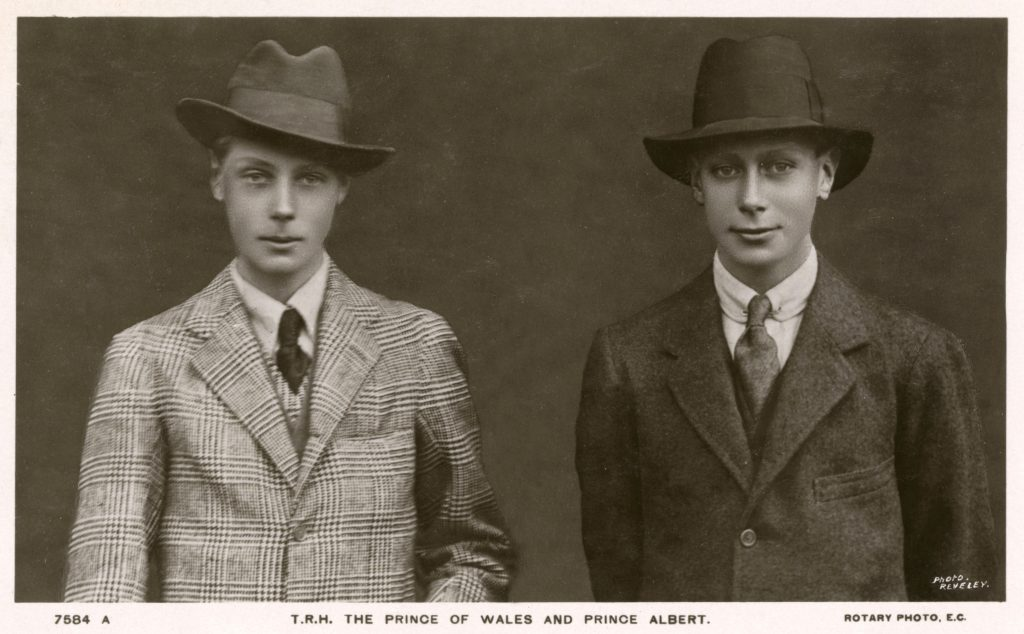 Edward, Prince of Wales and Prince Albert - British Royalty