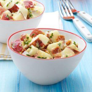 Quick Bacon Potato Salad