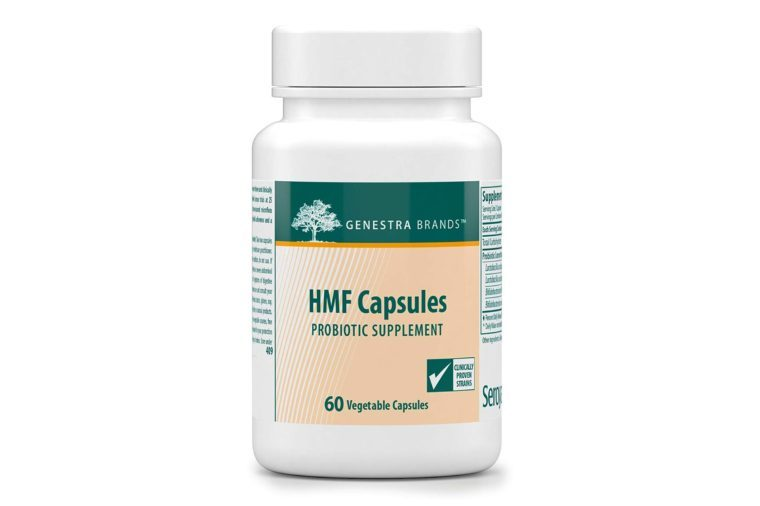 Genestra Brands - HMF Capsules - Probiotic Formula to Support Healthy Gut Flora* - 60 Capsules