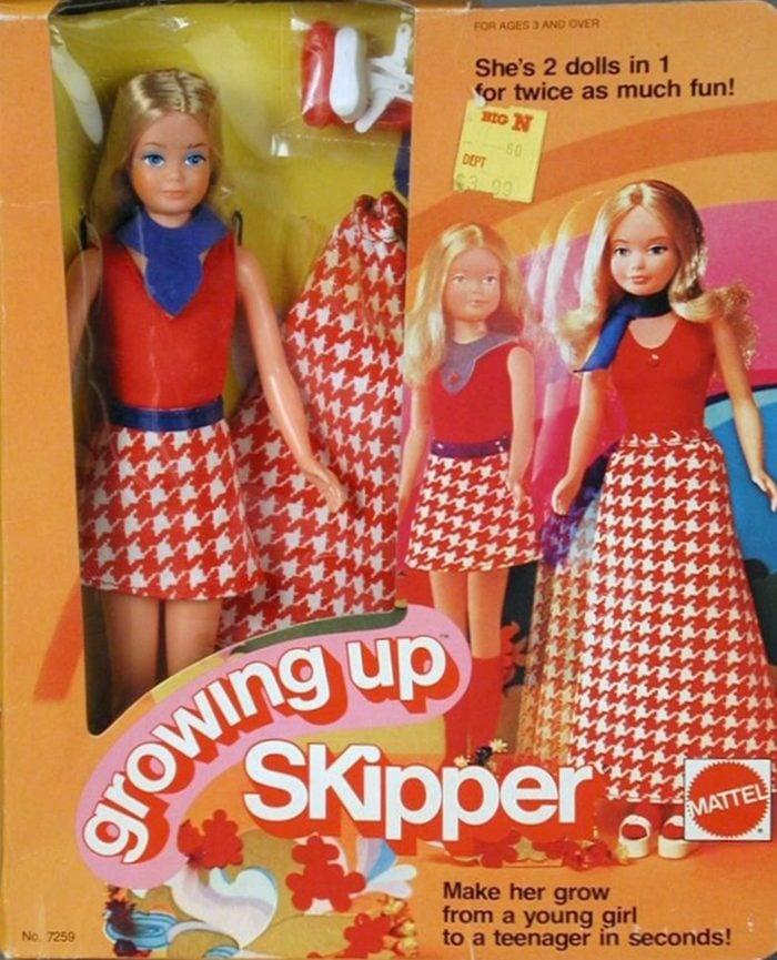 growing up skipper barbie